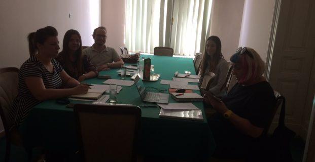 1. sastanak članova tima HSZG – HIS, 20. lipnja 2018.