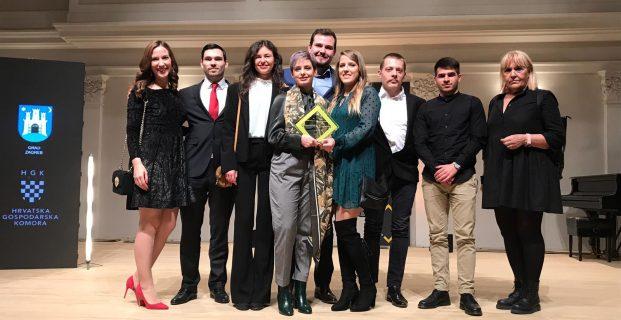 Studenti  projekta CPD4GB dobitnici nagrade ŽUTI OKVIR časopisa National Geographic